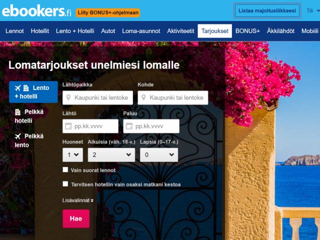 ebookers-alennuskoodi