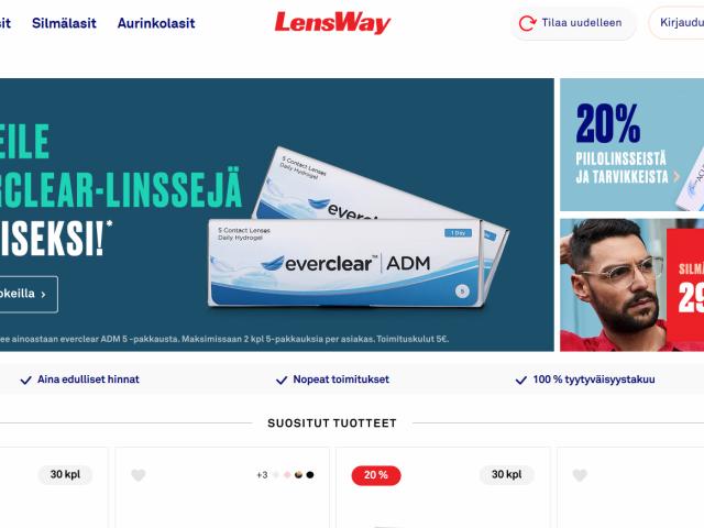 lensway-alennuskoodi