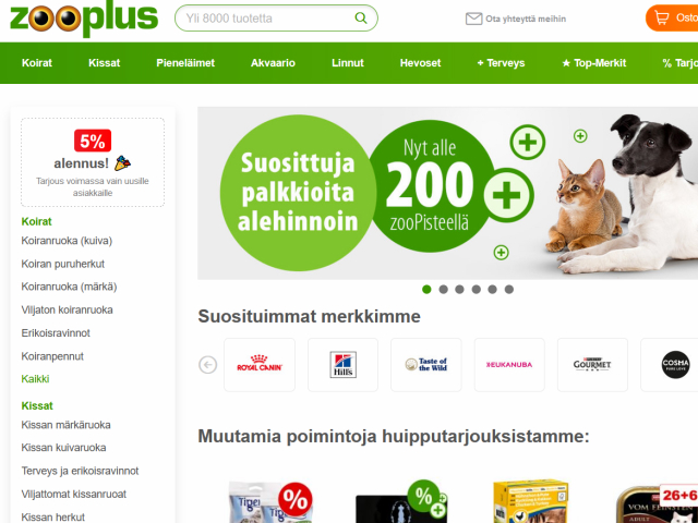 zooplus-alennuskoodi