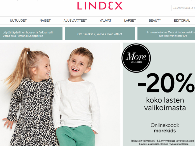 lindex-alennuskoodi